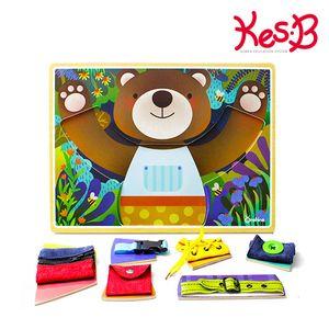 (캐스B) 튼튼 곰돌이소근육퍼즐