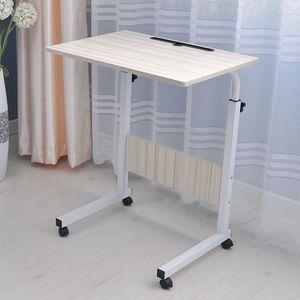 PL 이동식 높이조절 디귿자 테이블 다용도60