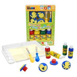 키즈페인트물감놀이 박스- 꼬마 놀이박스 물감