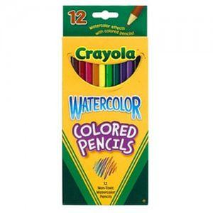 크레욜라 수채색연필12색 색연필 크레파스 야외용분필