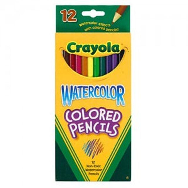 [더산쇼핑]크레욜라 수채색연필12색 색연필 크레파스 야외용분필