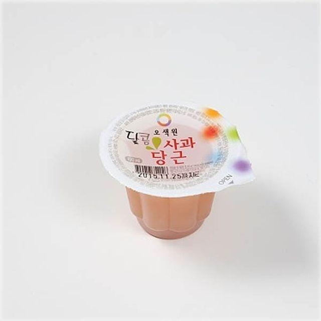 오색원 달콤 사과당근 100ml(1box)_후식용 소용량