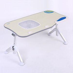 출장 각도조절 접이식 노트북 테이블 책상 쿨러형