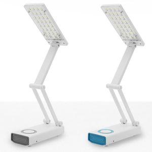 LED 4단 접이식 거울 스탠드(색상랜덤)