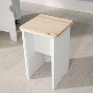원목 스톨의자(상판)/의자/간이의자