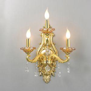 글로리 3등 촛대 벽등 럭셔리 골드조명 (램프포함)