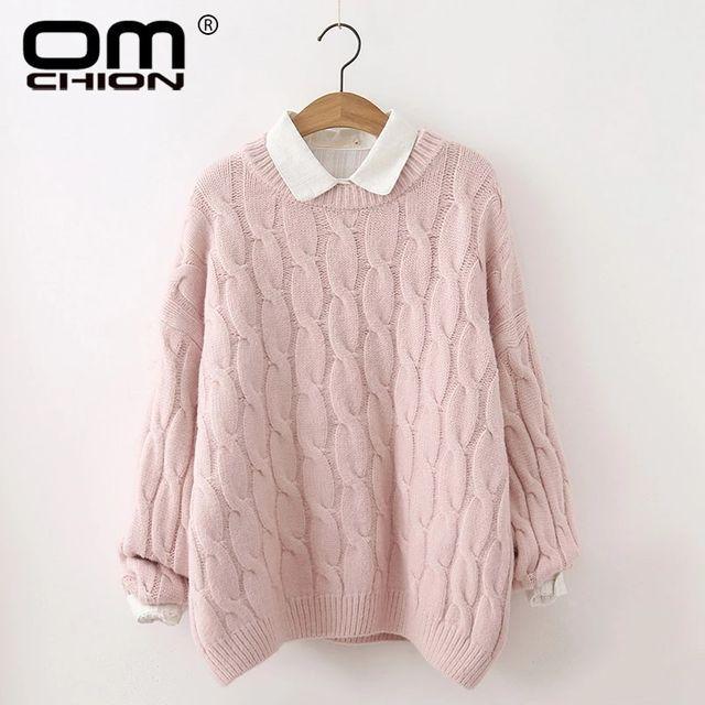 [해외] Omchion pull femme 2019 가을 겨울 여성 스웨터와 풀
