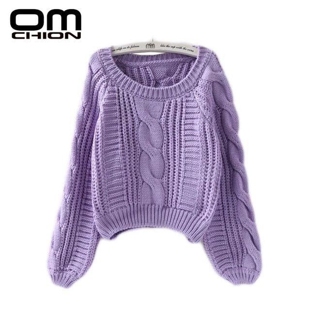 [해외] Omchion pull femme 2019 가을 겨울 트위스트 소프트
