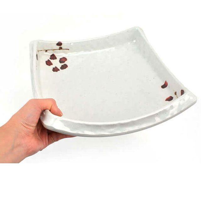 살구 통정사각 수반볼 접시 [제작 대량 도매 로고 인쇄 레이저 마킹 각인 나염 실크 uv 포장 공장 문의는 네이뽕]