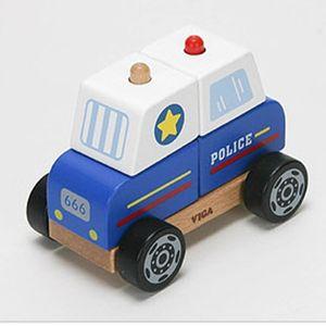 어린이 역할 놀이 장난감 남아 완구 선물 블록 경찰차
