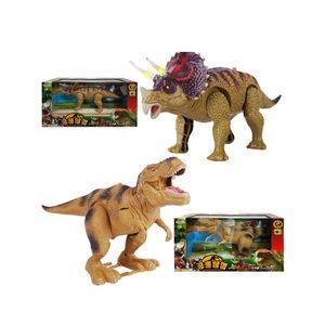공룡탐험 티라노사우루스+트리케라톱스 2개 공룡로봇