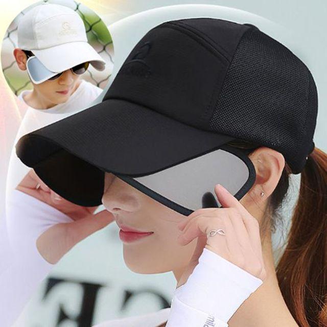 W 남녀공용 워킹 등산 햇빛 자외선 차단 볼캡 썬캡