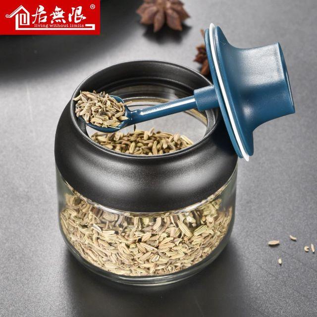 [해외] 간장 식초 조미료 병 세트 주방 가정용 유리