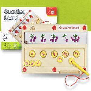 조카 학습 장난감 선물 숫자 마그네틱 블록 매칭 보드