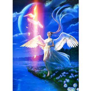 에덴의 천사 6도 인쇄 1000조각 49X72