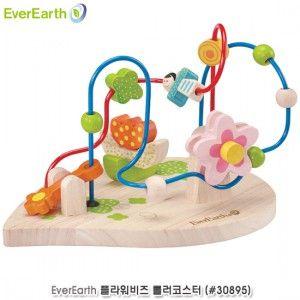 유아 완구 감각 놀이 플라워비즈 롤러코스터