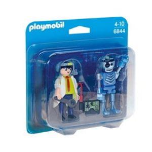 플레이모빌 듀오팩/로봇과 과학자