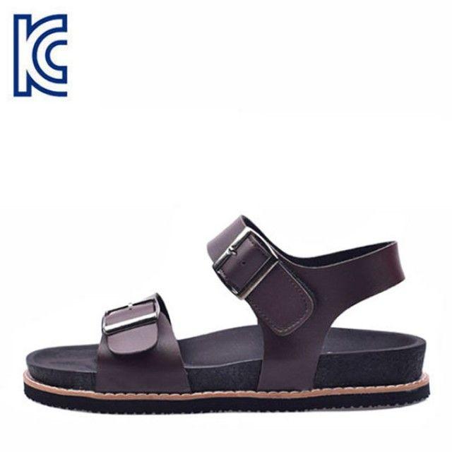 【韩国直邮】时尚系带男士凉鞋