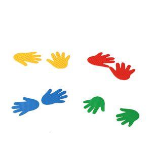신체 놀이 유아 체육 교구 손모양 마커 8개세트 4쌍