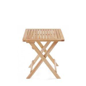 내츄럴 원목 접이식 테이블 小