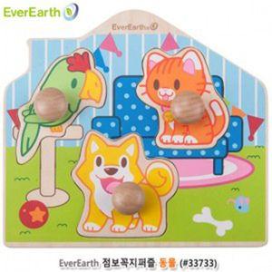 에버어쓰(EverEarth) 점보꼭지퍼즐 동물