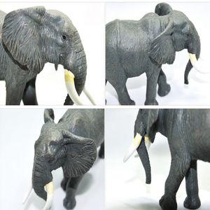 아프리카 코끼리 어린이 수집 전시 취미 모형 완구
