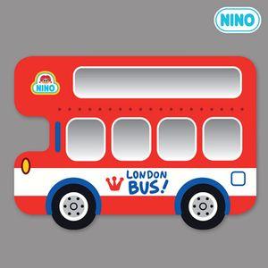 아이방 소품 안전 거울 니노 미러보드 런던버스 측면