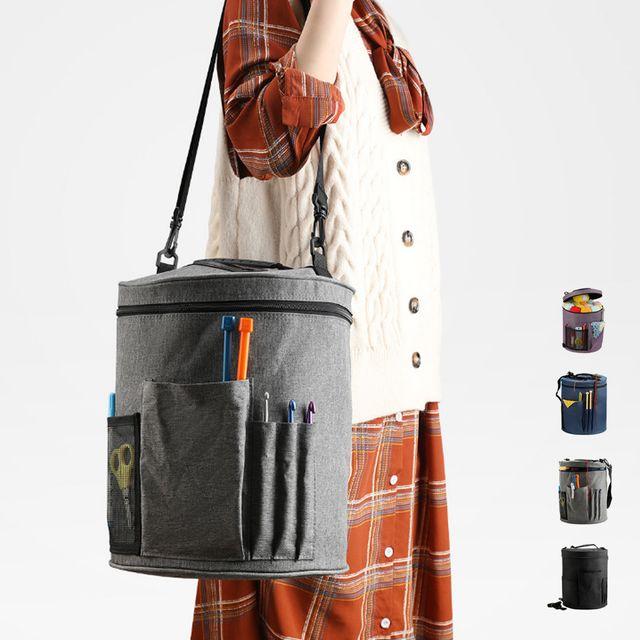 W 키밍 뜨개질 보관 가방 숄더백 부자재 공구함 공예