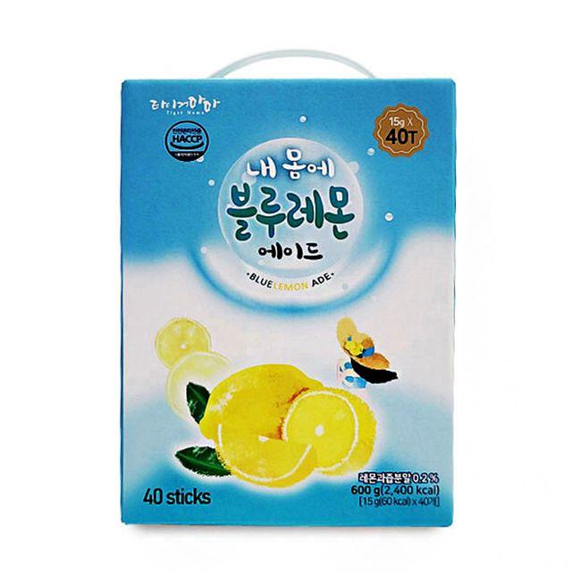W 시원한 여름 주스 타이거마마 블루 레몬에이드 40T