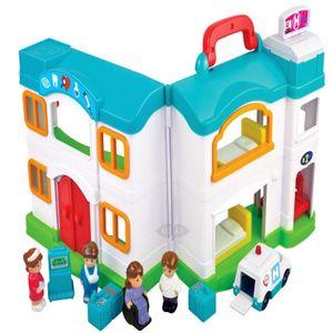 아동 유아 응급실 병원 의사 인형 체험 놀이 세트