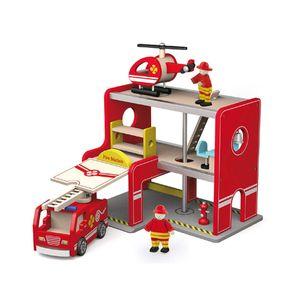 유아 어린이 놀이 소방서+소품포함 아이 장난감 선물
