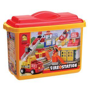 옥스포드 Fire Station 소방서 블럭 아동 유아 장난감