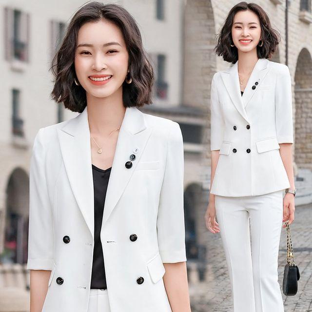 [해외] 여성 패션 재킷 자켓 정장세트어 고급 정장 정장