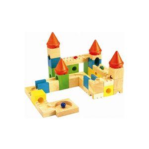 (보알라토이구슬성 블록)원목 블록 그림퍼즐 교육완구 장난감 수입완구