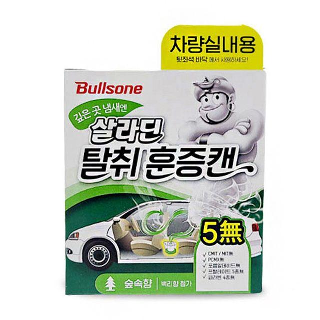 W 자동차 차량 냄새 에어컨 히터 관리 훈증캔 숲속향