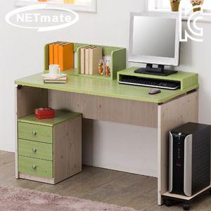 NETmate 입식 책상 1200x600x720 그린 컴퓨터 데스크
