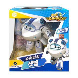 슈퍼윙스 시즌4 슈퍼 파워 샛별 로봇 장난감 선물