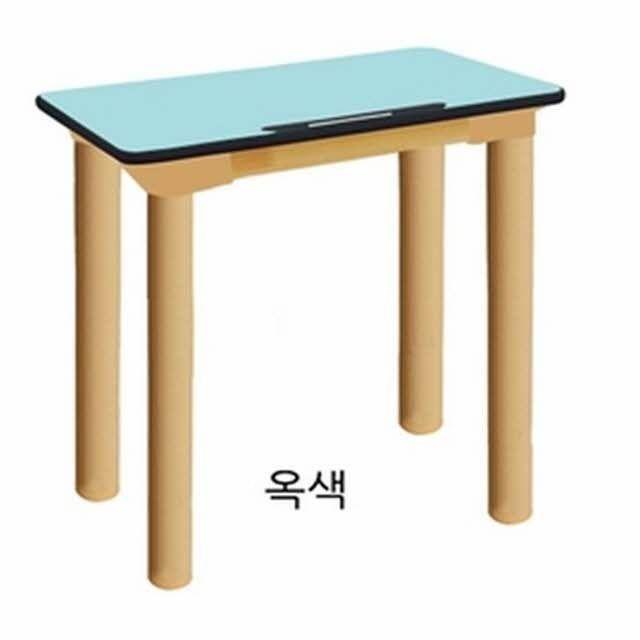 하모니 안전 하모니1인용책상(기본다리)-초1_3학년(옥색)
