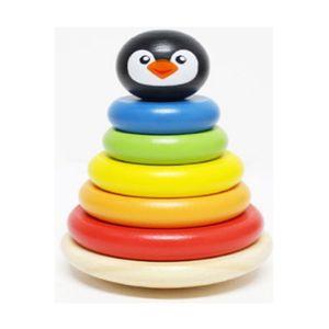 귀여운 도넛 컬러 링쌓기 놀이 감각 발달 완구 장난감