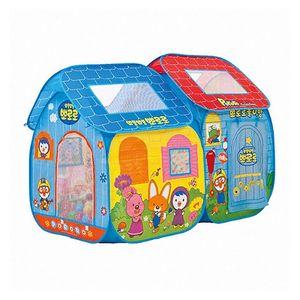 유아 놀이 공간 아지트 뽀로로 더블 하우스 볼텐트