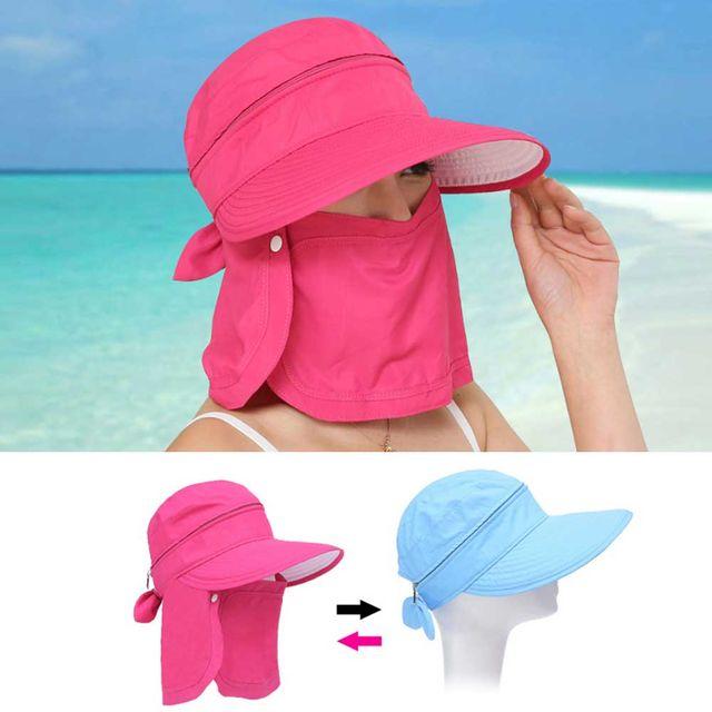 여성 여름 치마 썬캡 휴가 해변 모자 예쁜 그늘 일모