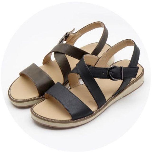 W 남성 샌달 심플리 샌들 스포츠 여름 신발 샌달 2색