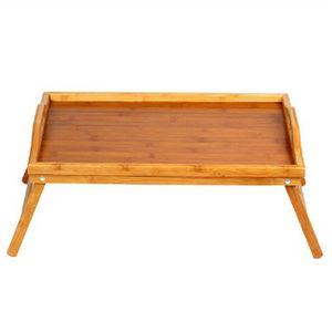 베드테이블 캠핑용 가정용 대나무 접이식 좌식 책상
