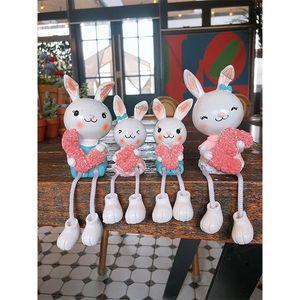 토끼 LOVE 인형4P (9602)
