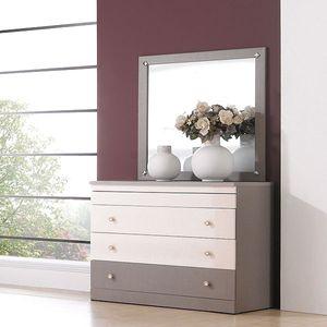 MISOGA 시드니 4단서랍장 900+거울
