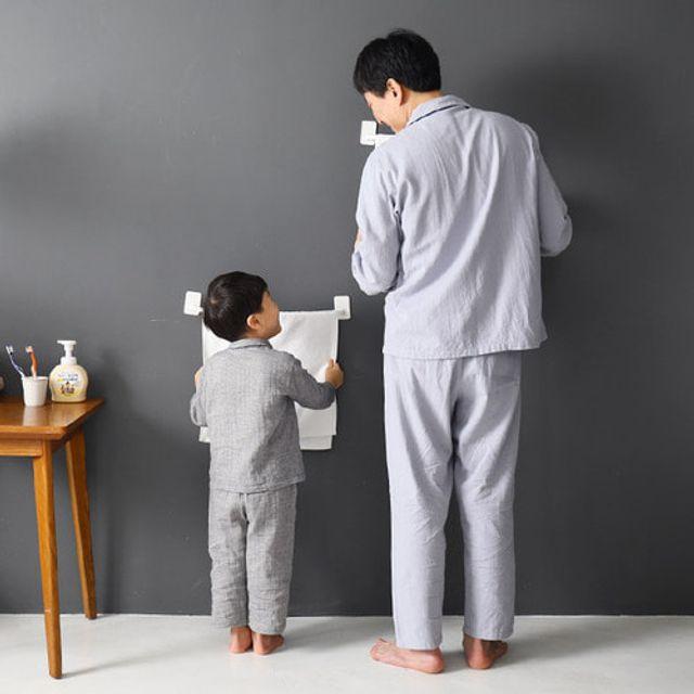 유아 신생아 어린이 수건평등 수건 걸이