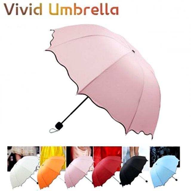 W 비비드 4단우산 접이식 여성 우산 양산 사은품 선물