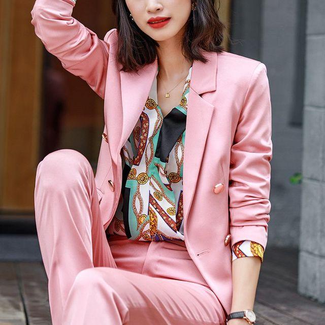 [해외] 여성 패션 재킷 자켓 정장세트 양기 전문 유니폼