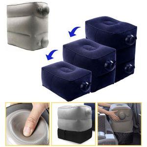 에어발쿠션-3단 의자 발받침대 높이조절 자체펌프