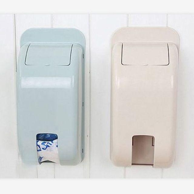 W 비닐봉지 정리함 케이스 수납함 다용도 주방 욕실